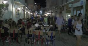Πρώτο βράδυ στα Χανιά με μουσική και εως τη 1.30 έξω - Γέμισαν τα μαγαζιά (φωτο - video)