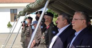 Τίμησαν στην 1η ΜΑΛ στον Πλατανιά τη μνήμη των πεσόντων στην Κύπρο το 1974