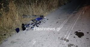 Νεκρός 18 χρονος νέος σε τροχαίο δυστύχημα στα Χανιά (φωτό)