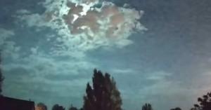 Η νύχτα ... μέρα από μετεωρίτη που «άναψε» τον ουρανό