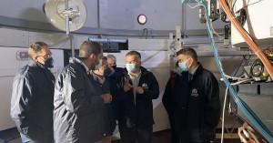 Το Αστεροσκοπείο Σκίνακα και τ' Ανωγεία επισκέφτηκε ο Υφυπουργός Έρευνας και Τεχνολογίας