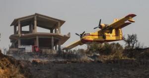 Πυρκαγιά στην Αχαΐα – Στάλθηκε κλιμάκιο να διερευνήσει αν πρόκειται για εμπρησμό