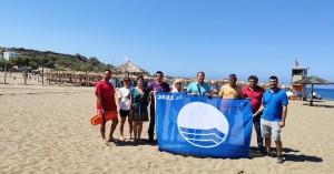 Οι δυο παραλίες της Παλαιόχωρας που πήραν γαλάζια σημαία