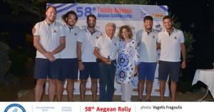 Δύο σημαντικές νίκες για Κορμοράνο στο Ράλλυ Αιγαίου