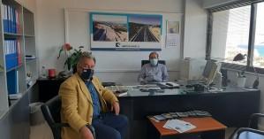Συνάντηση Γ. Λογιάδη με Γ. Αγαπάκη με αντικείμενο τη νέα χάραξη