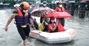 Φιλιππίνες: Πλημμύρες στη Μανίλα – Απομακρύνθηκαν χιλιάδες κάτοικοι