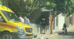 Τροχαίο ατύχημα στα Χανιά - Συγκρούστηκε μηχανάκι με αυτοκίνητο