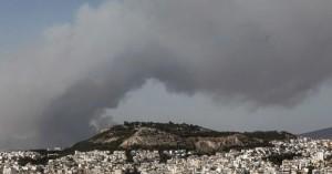 ΕΑΑ: Άσχημη η κατάσταση με τα σωματίδια σε πολλές περιοχές λόγω της φωτιάς στη Βαρυμπόμπη
