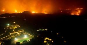 Εύβοια, Αρχαία Ολυμπία, Μεσσηνία: Σε εξέλιξη για δεύτερη μέρα η μάχη με τις φλόγες