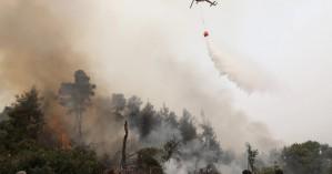 Φωτιά στην Εύβοια: Ανεξέλεγκτη η πυρκαγιά – Μπαράζ εκκενώσεων