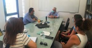 Κλιμάκιο της ΤΕ Ηρακλείου του ΚΚΕ με επικεφαλής τον Μ. Συντυχάκη στο ΙΤΕ