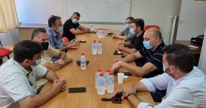 Ενημερωτική συνάντηση μελών ΕΚΗ με Ευρωβουλευτή Ν. Ανδρουλάκη