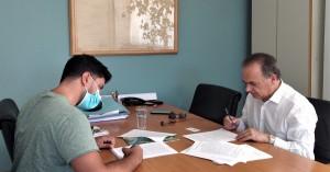 Υπεγράφη σύμβαση για τη στέγαση Ενιαίου Ειδικού Επαγγελματικού Γυμνασίου Λυκείου Ρεθύμνου