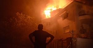 Νύχτα εφιάλτης σε Βαρυμπόμπη, Τατόι, Θρακομακεδόνες: Μάχη με τις φλόγες σε τρία μέτωπα