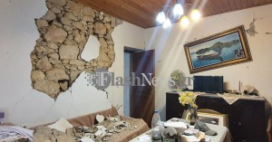 Σοκαριστικές εικόνες από τις καταστροφές στο Αρκαλοχώρι και τα γύρω χωριά (φωτο)