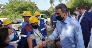 Στις σεισμόπληκτες περιοχές ο Κυριάκος Μητσοτάκης (φωτο - βίντεο)
