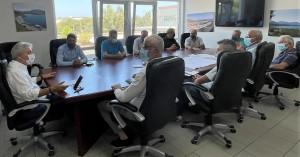 Σύσκεψη ΟΑΚ-Δήμου Χανίων για τις μελέτες του Κολυμβητηρίου