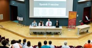 Στο Πανεπιστήμιο Κρήτης  ομάδα ερευνητών – δημιουργών του εμβολίου Sputnik V