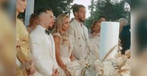 Λευτέρης Πετρούνιας - Βασιλική Μιλλούση: Παντρεύτηκαν με θρησκευτικό γάμο (φωτο-βίντεο)