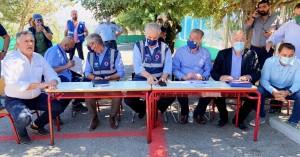 Χρ. Στυλιανίδης: Σκηνές για 2.500 ανθρώπους - Σε κατάσταση έκτακτης ανάγκης η περιοχή