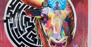 Εντυπωσιάζει η νέα τοιχογραφία στο πλαίσιο του «Τέχνη Καθ' Οδόν»