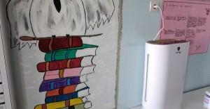 Μηχάνημα καθαρισμού ατμόσφαιρας σε σχολείο των Χανίων - Πρωτοβουλία των γονέων