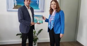 Συνάντηση Συριγωνάκη - επιτετραμμένης της πρεσβείας της Ρουμανίας