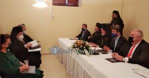 Η Λίνα Μενδώνη στα Χανιά για το νέο Ίδρυμα Πατριάρχης Βαρθολομαίος (φωτο - βίντεο)