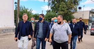 Ο Λευτέρης Αυγενάκης στο Καστέλι για την επανέναρξη των σχολείων