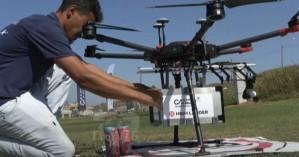 «Ιπτάμενο» σούσι στο Ισραήλ – Ξεκινούν τα delivery τροφίμων και φαρμάκων με… drone