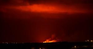 Φωτιά καίει έκταση σε χωριό του δήμου Χερσονήσου (φωτο)