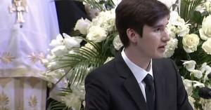 Φώφη Γεννηματά – Συγκλόνισε ο επικήδειος του 17χρονου γιού της (βιντεο)