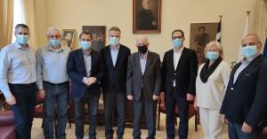 Συνάντηση Λαμπρινού - ΚΤΥΠ για τα ανοικτά ζητήματα του Δήμου Ηρακλείου
