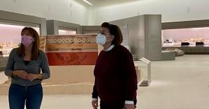 Το νέο αρχαιολογικό μουσείο Χανίων επισκέφτηκε η υπουργός πολιτισμού Λίνα Μενδώνη