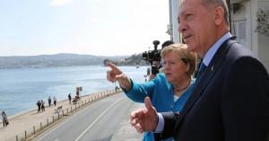 Προκλητικός έναντι της Ελλάδας ο Ερντογάν ακόμη και στην τελευταία συνάντηση με την Μέρκελ