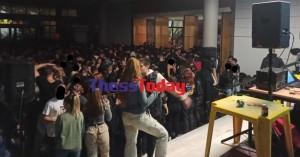 Νέο κορονοπάρτι στο ΑΠΘ με πάνω από 1.500 άτομα