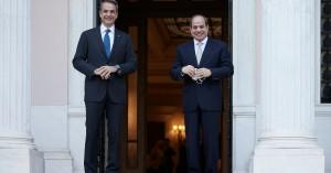 Σε άριστο επίπεδο οι διμερείς σχέσεις Ελλάδας - Αιγύπτου