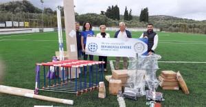 Προμηθεύτηκε αθλητικό εξοπλισμό για τον Γυμναστικό Σύλλογο Περάματος