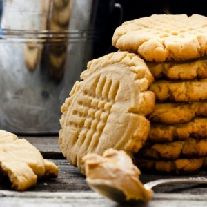 Μπισκότα με φιστικοβούτυρο και καστανή ζάχαρη