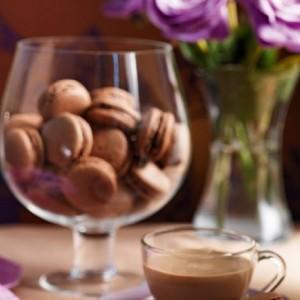Μακαρόν σοκολατένια