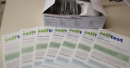 Σαρηγιάννης: Θα υπάρξει αποκλιμάκωση με τα self test