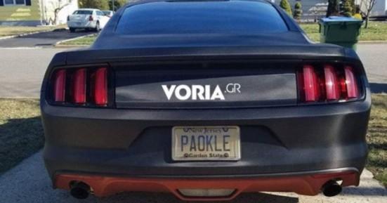 Θεσσαλονικιός κάτοικος του Νιου Τζέρσεϊ οδηγεί Mustang με πινακίδα