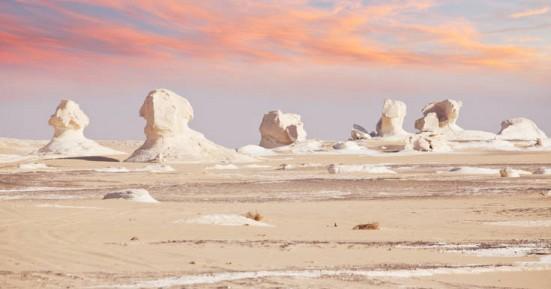 Η εντυπωσιακή λευκή έρημος της Αιγύπτου
