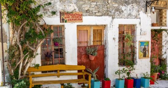 Η πολύχρωμη γωνιά της Κρήτης