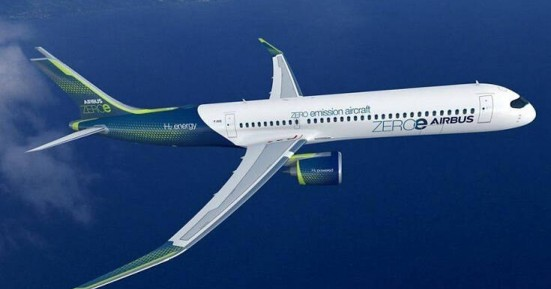 To πρώτο «καθαρό» επιβατηγό αεροπλάνο σχεδιάζει για το 2035 η Airbus