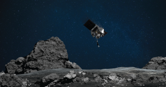 O «Osiris» της NASA προσγειώθηκε μετά από 4 χρόνια στον αστεροειδή Bennu