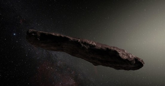 O μυστηριώδης αστεροειδής σε σχήμα πούρου είναι εξωγήινο σκάφος!