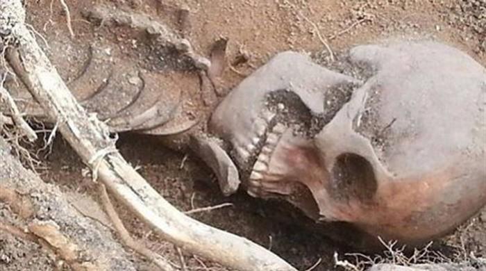 Βρέθηκε ανθρώπινος σκελετός θαμμένος πριν απο 20 χρόνια