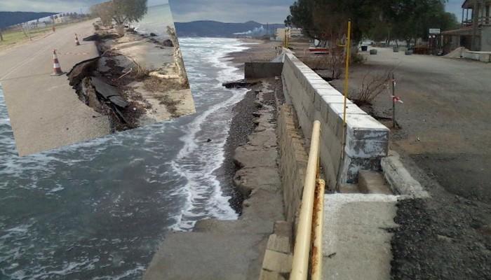 Συνάντηση στα Χανιά για το θέμα της διάβρωσης των ακτών
