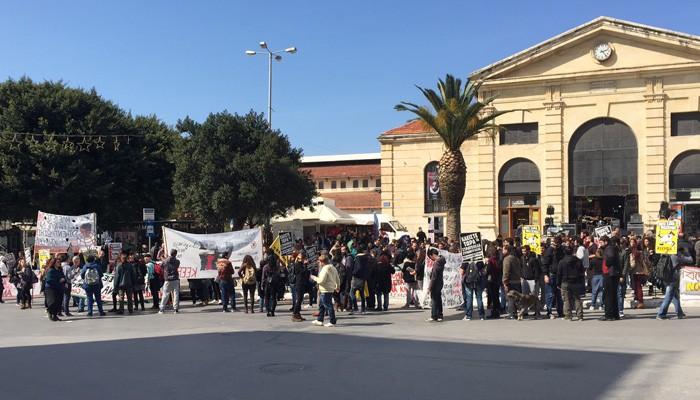Κοινό κάλεσμα για το συλλαλητήριο στα Χανιά στις 18 Μάρτη